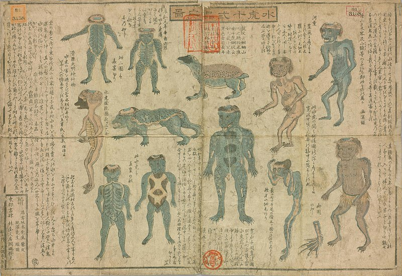 type of Kappa Yokai
