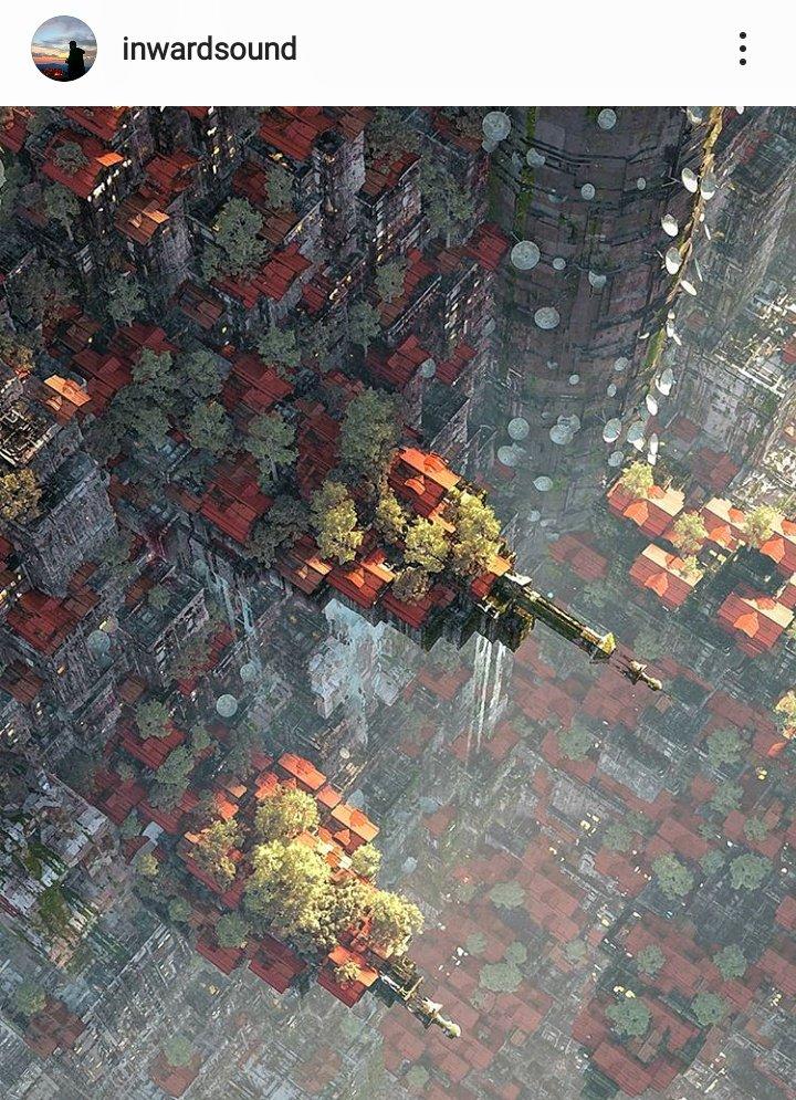 cyberpunk city art