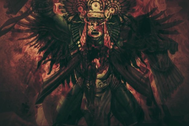 aztec god of sun and war