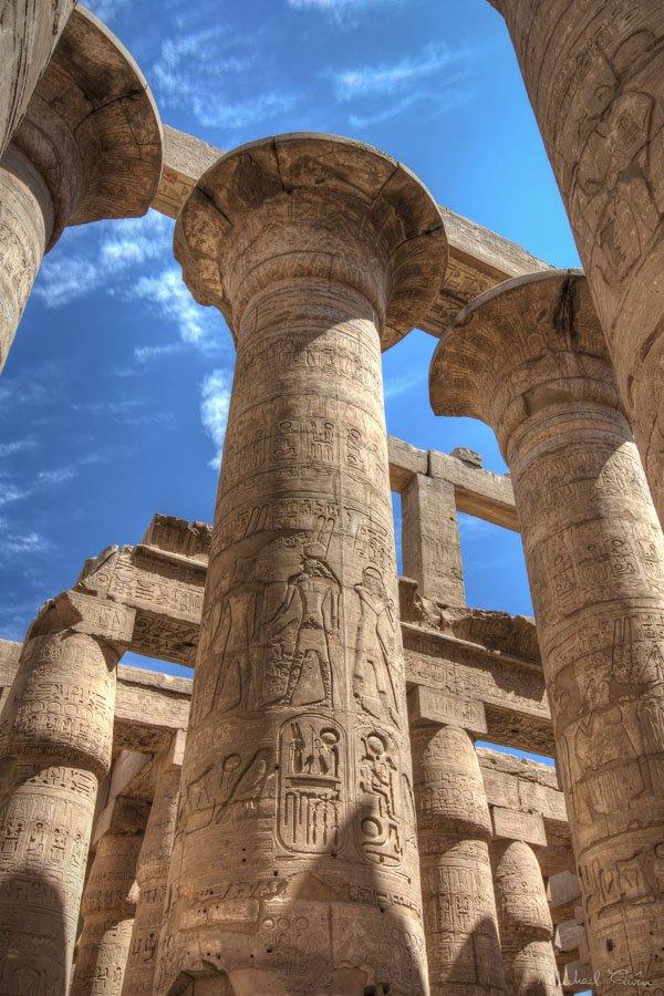 archeology mystery karnak
