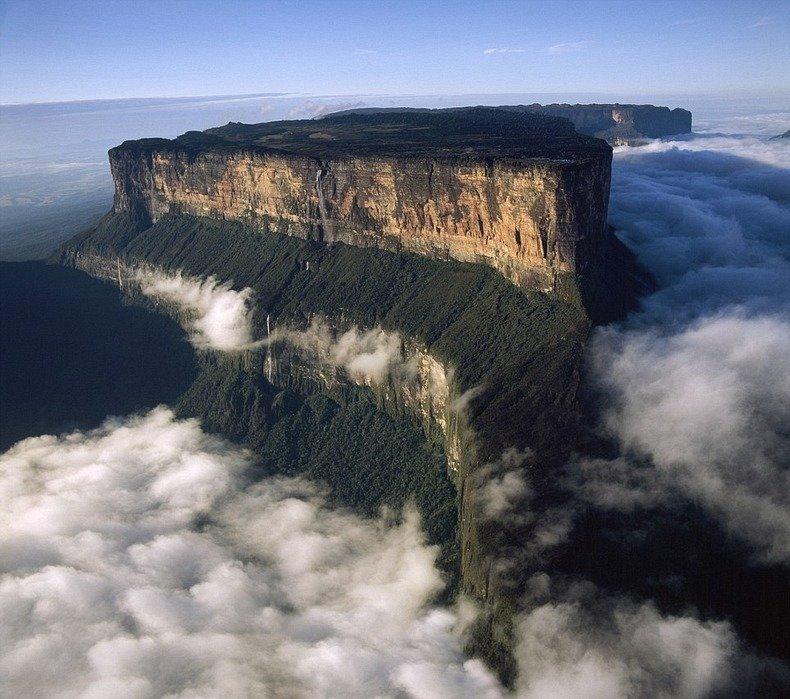 Tepui geology mysteries